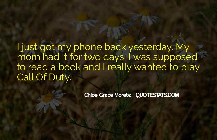Chloe Grace Moretz Quotes #304519