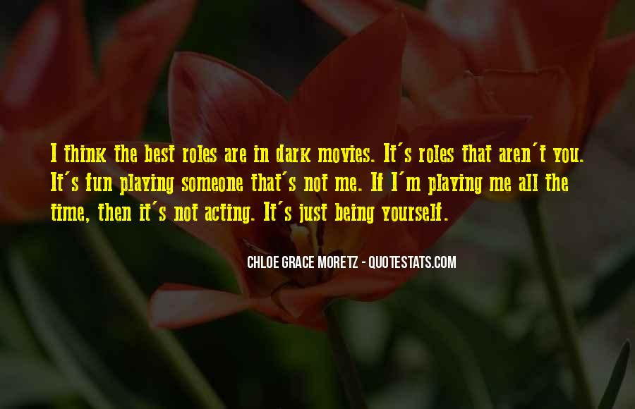 Chloe Grace Moretz Quotes #452865
