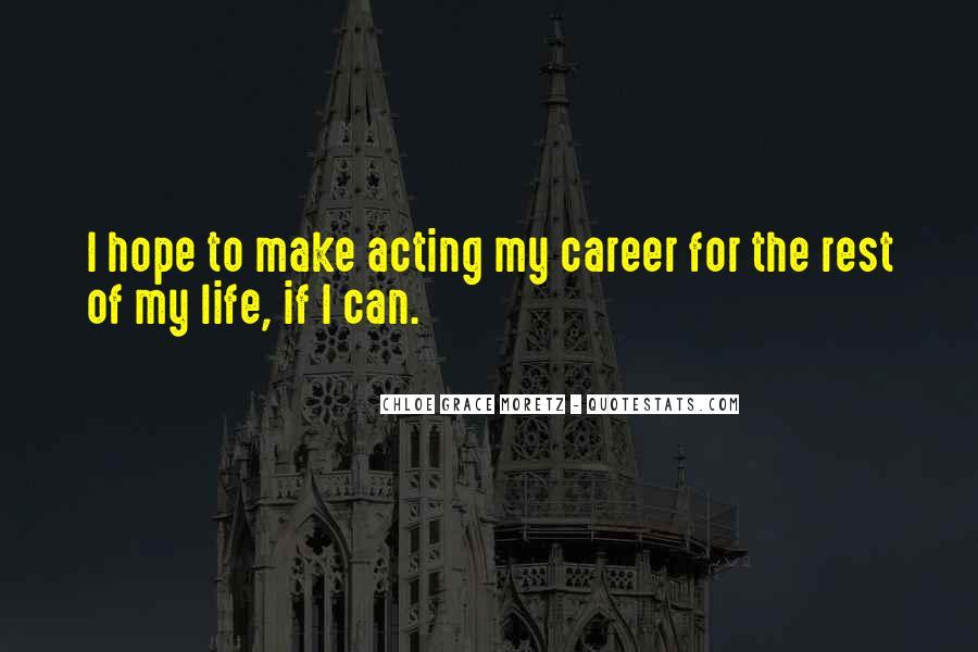 Chloe Grace Moretz Quotes #59701