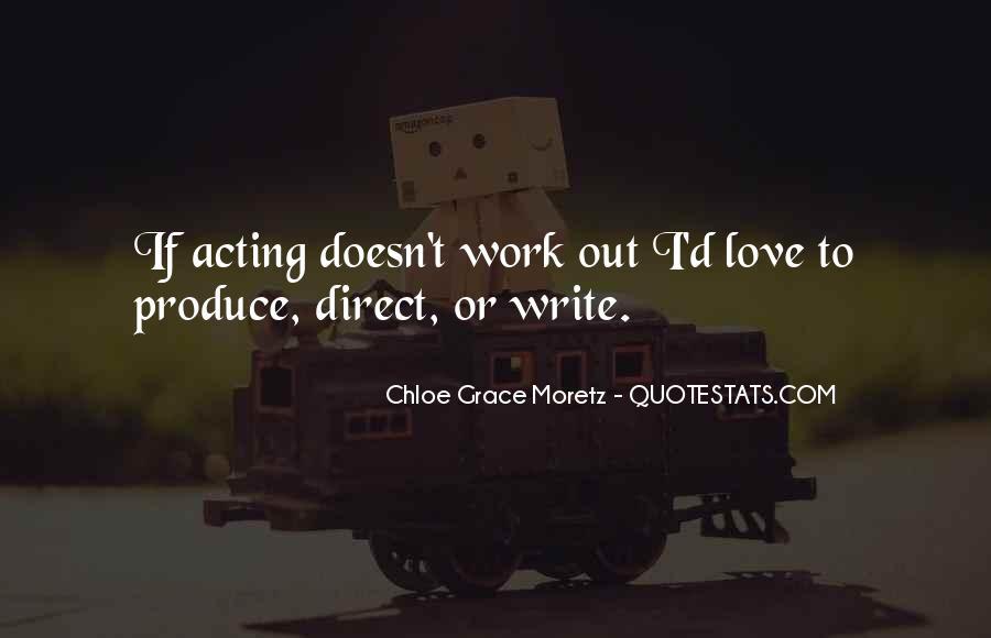 Chloe Grace Moretz Quotes #941876