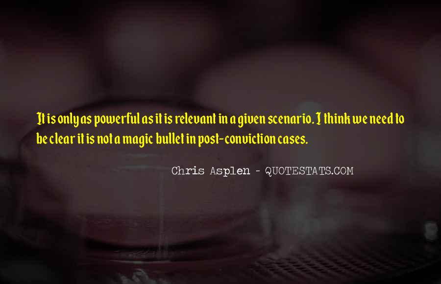 Chris Asplen Quotes #458697