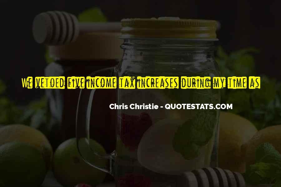 Chris Christie Quotes #1089780