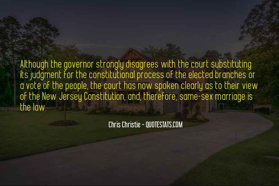 Chris Christie Quotes #1108378