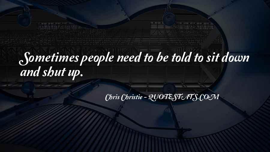 Chris Christie Quotes #1333075