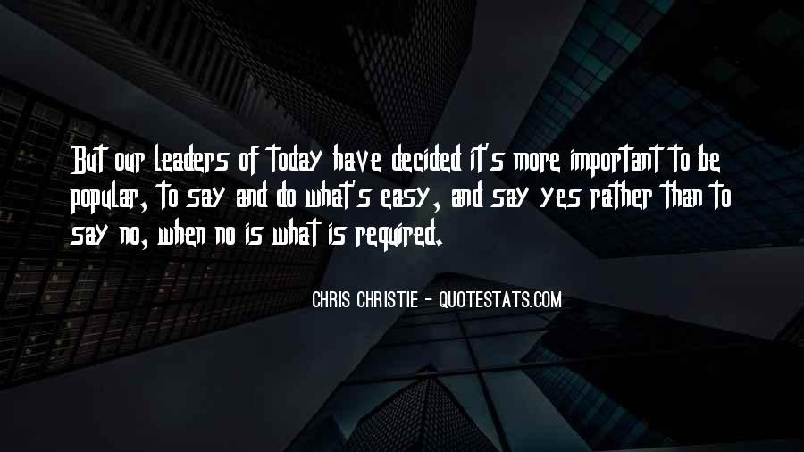 Chris Christie Quotes #1382483