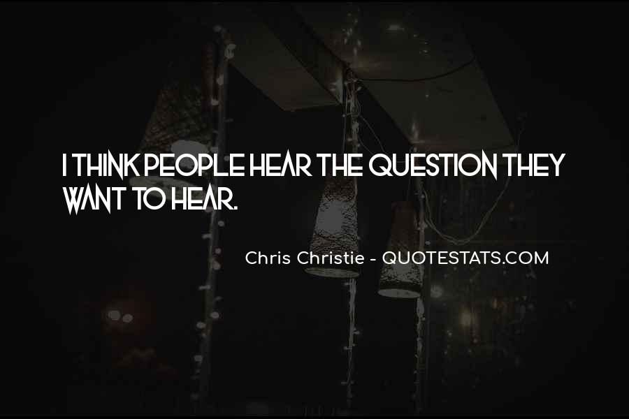 Chris Christie Quotes #1513295