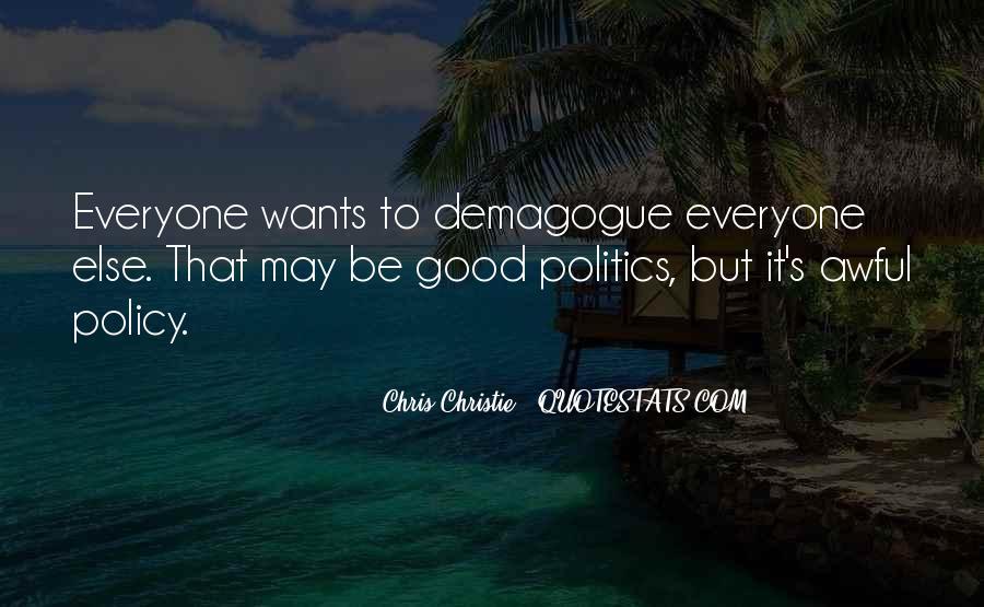 Chris Christie Quotes #1605415