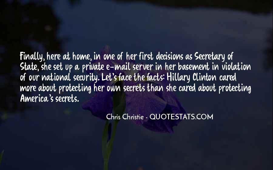 Chris Christie Quotes #1670109