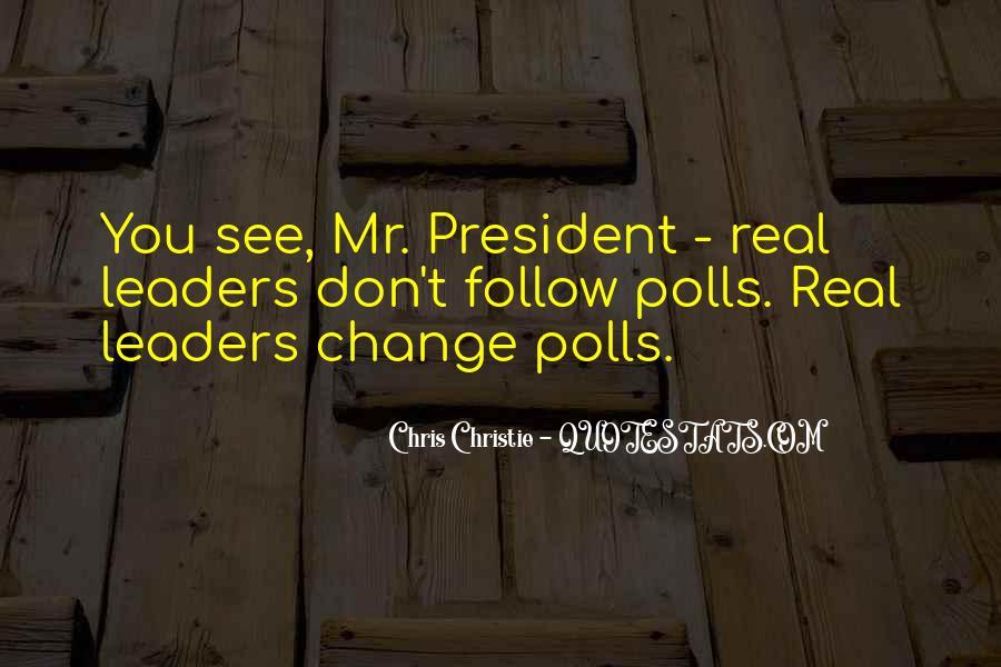 Chris Christie Quotes #510556