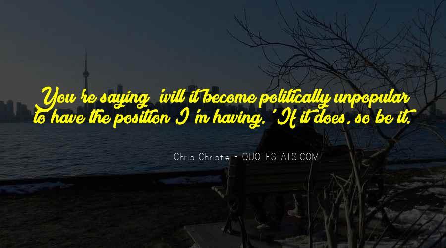 Chris Christie Quotes #754668