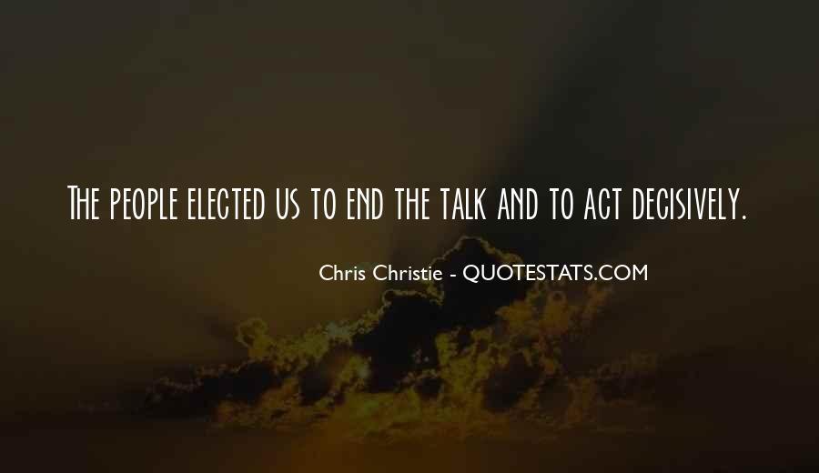 Chris Christie Quotes #811643