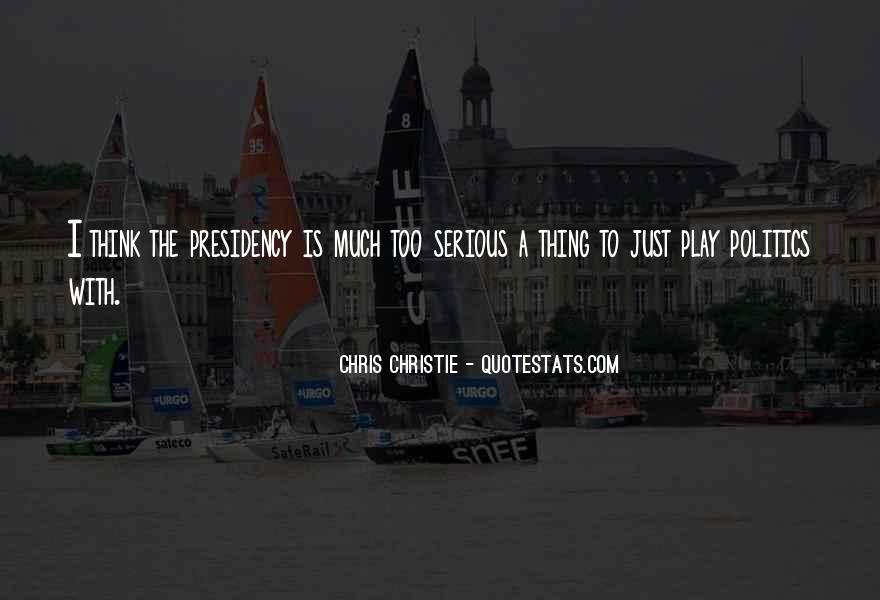 Chris Christie Quotes #932179