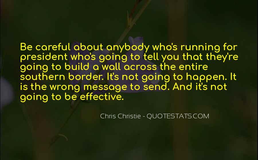 Chris Christie Quotes #947824