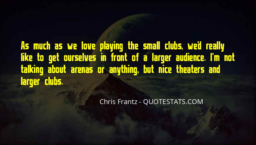 Chris Frantz Quotes #811667