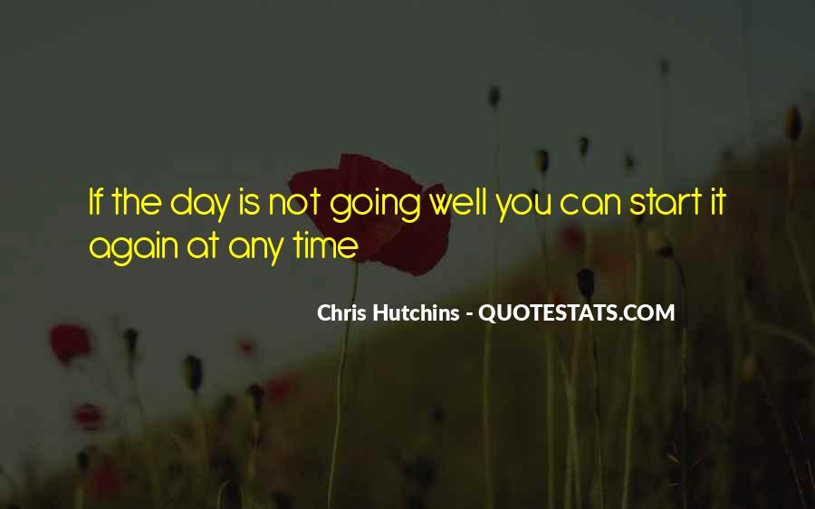 Chris Hutchins Quotes #1657840