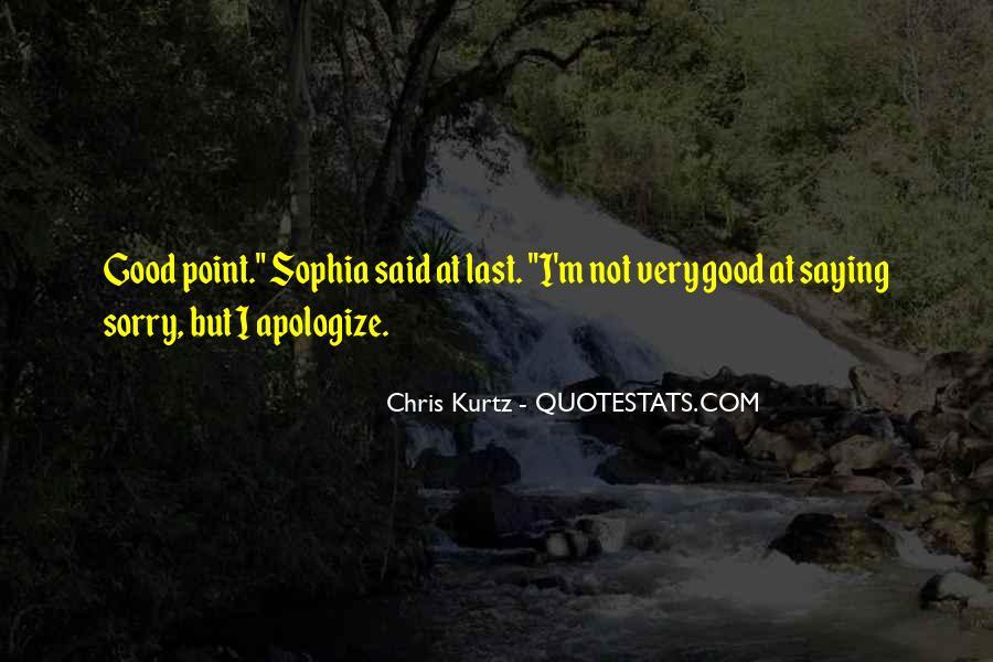 Chris Kurtz Quotes #101746