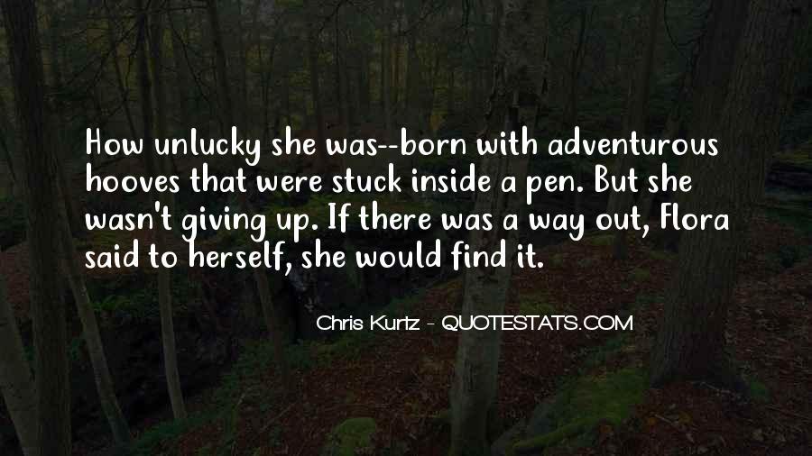 Chris Kurtz Quotes #1399271