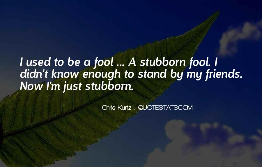 Chris Kurtz Quotes #438707