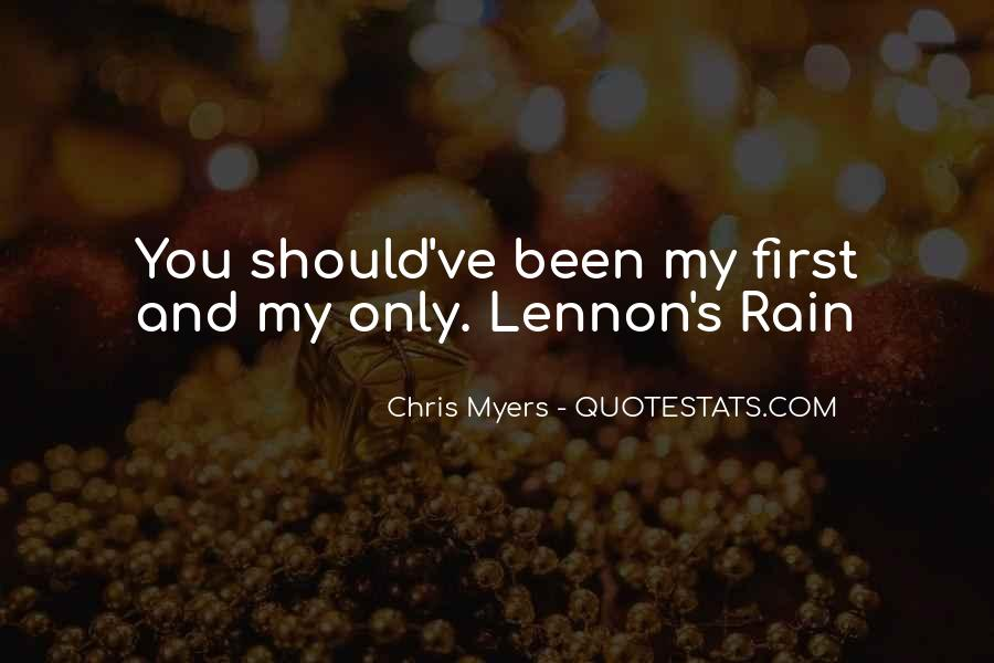 Chris Myers Quotes #787821