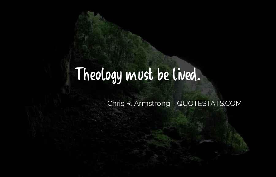 Chris R. Armstrong Quotes #248545