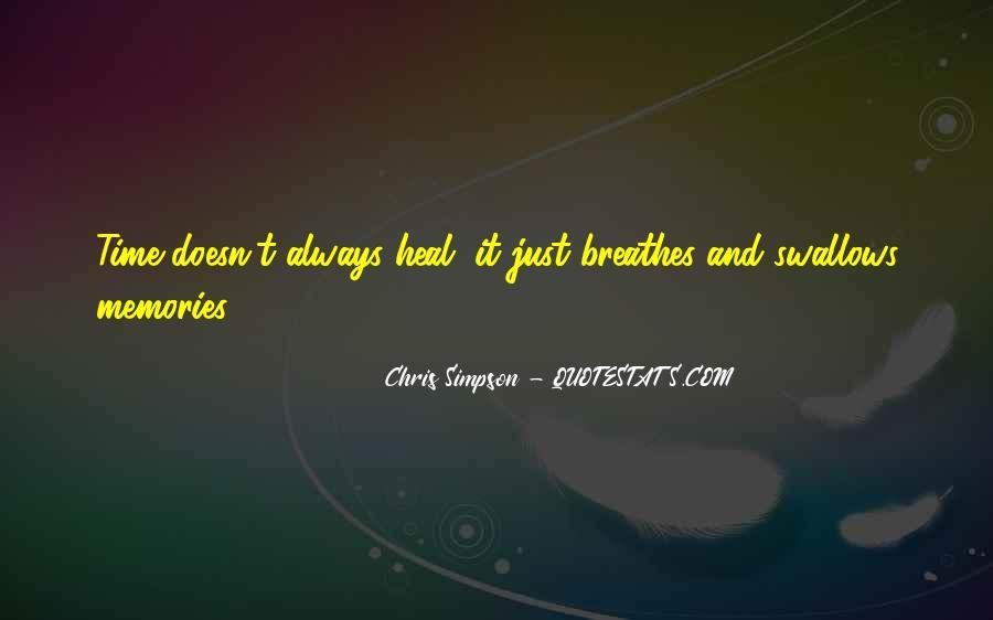 Chris Simpson Quotes #192481