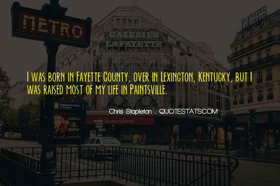 Chris Stapleton Quotes #1191937