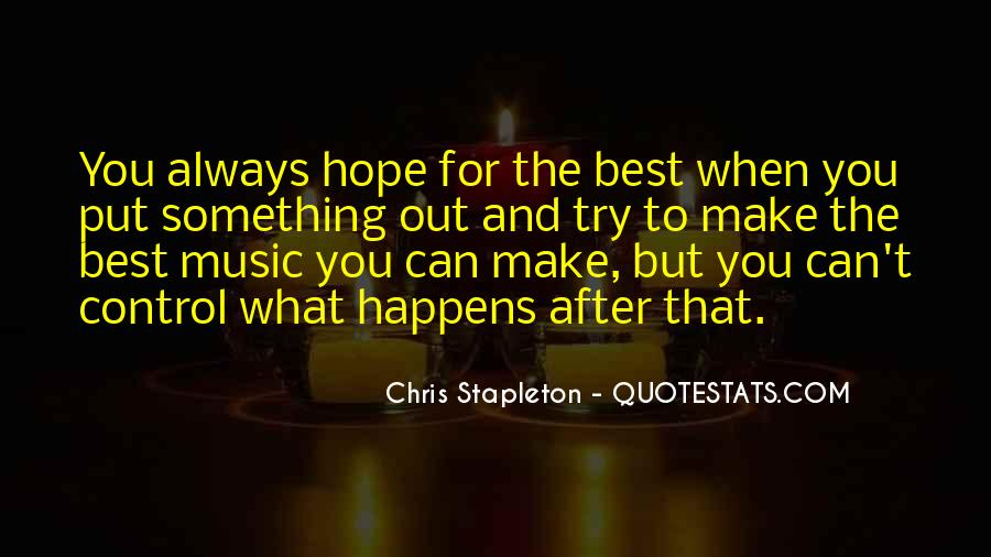 Chris Stapleton Quotes #1269057
