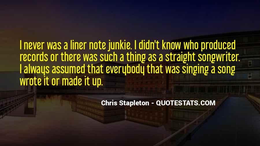 Chris Stapleton Quotes #1849291