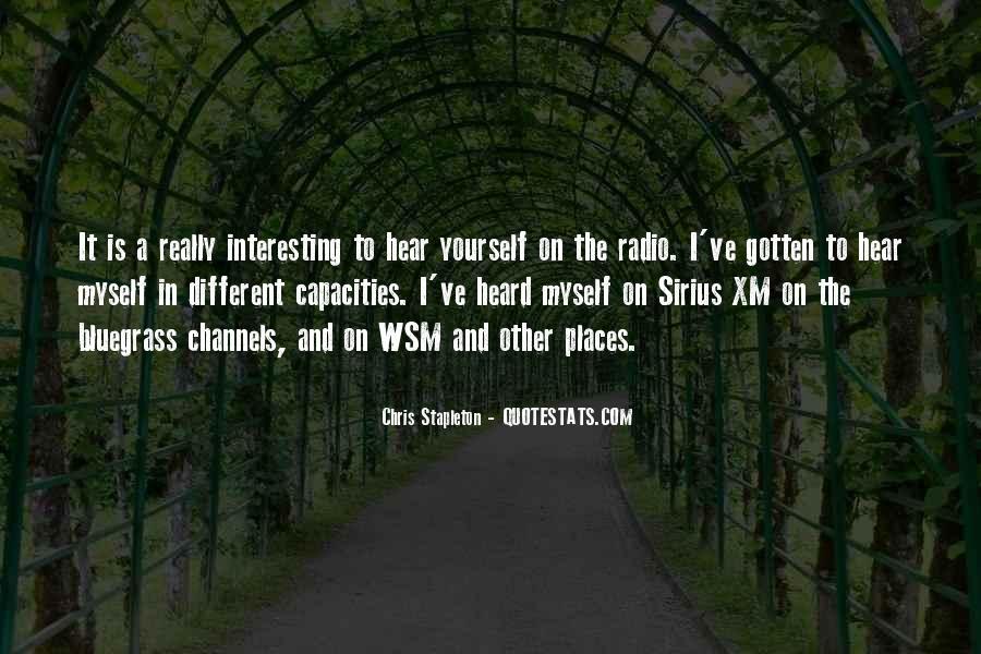 Chris Stapleton Quotes #220748