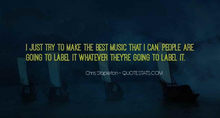 Chris Stapleton Quotes #286231