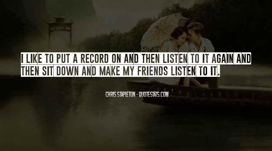Chris Stapleton Quotes #400086