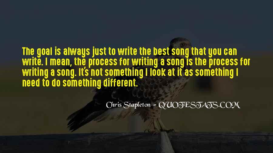 Chris Stapleton Quotes #53347