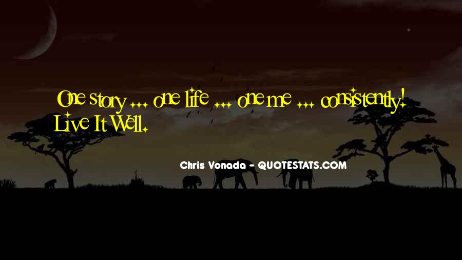 Chris Vonada Quotes #1620278