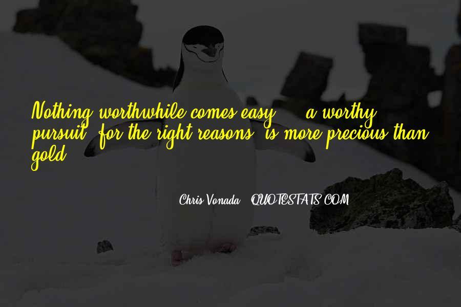 Chris Vonada Quotes #376046