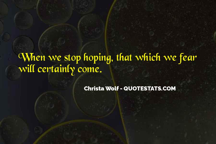 Christa Wolf Quotes #1574333