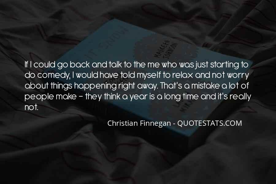 Christian Finnegan Quotes #1451362