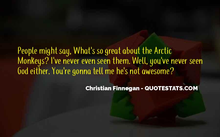 Christian Finnegan Quotes #928923