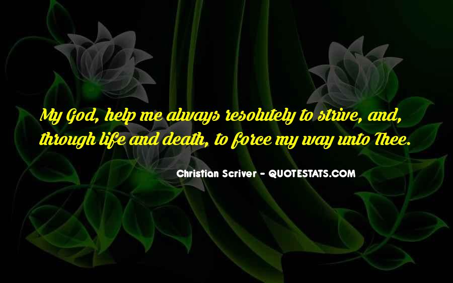 Christian Scriver Quotes #38720