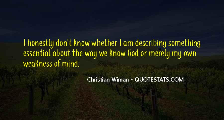 Christian Wiman Quotes #653940