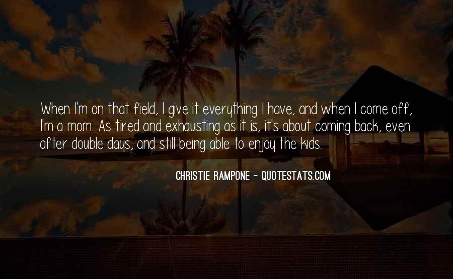 Christie Rampone Quotes #1117207