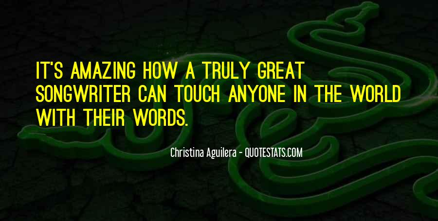 Christina Aguilera Quotes #1224135