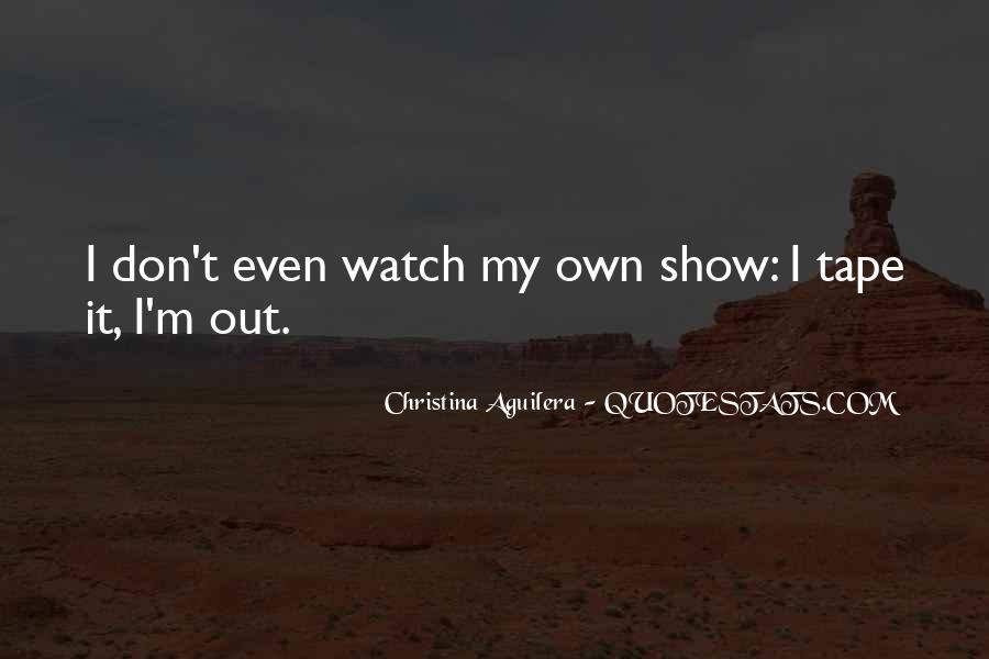 Christina Aguilera Quotes #48136
