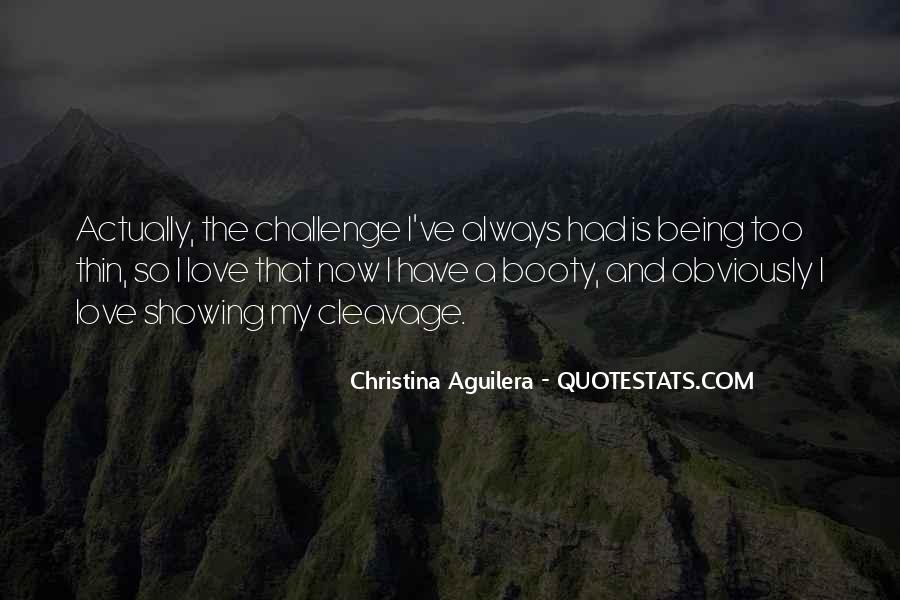 Christina Aguilera Quotes #705330
