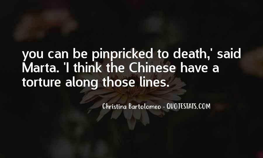 Christina Bartolomeo Quotes #1333452