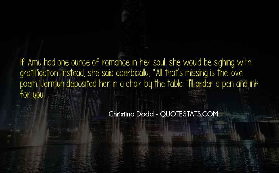Christina Dodd Quotes #1066938