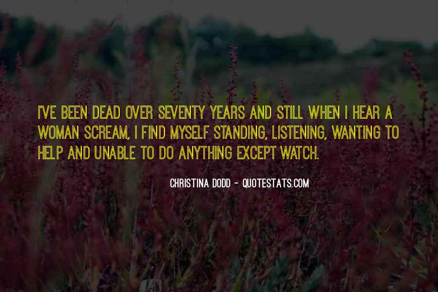 Christina Dodd Quotes #1592070