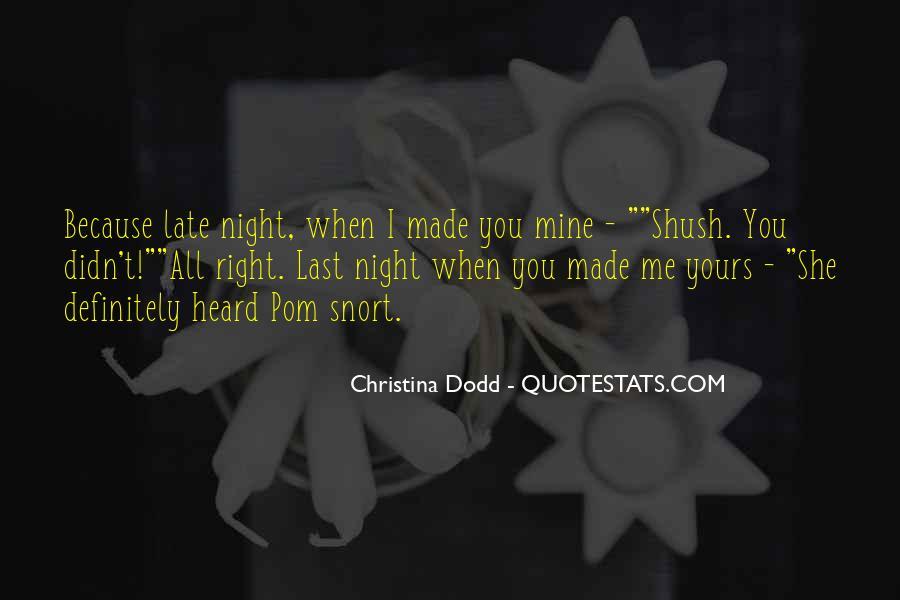 Christina Dodd Quotes #1844980
