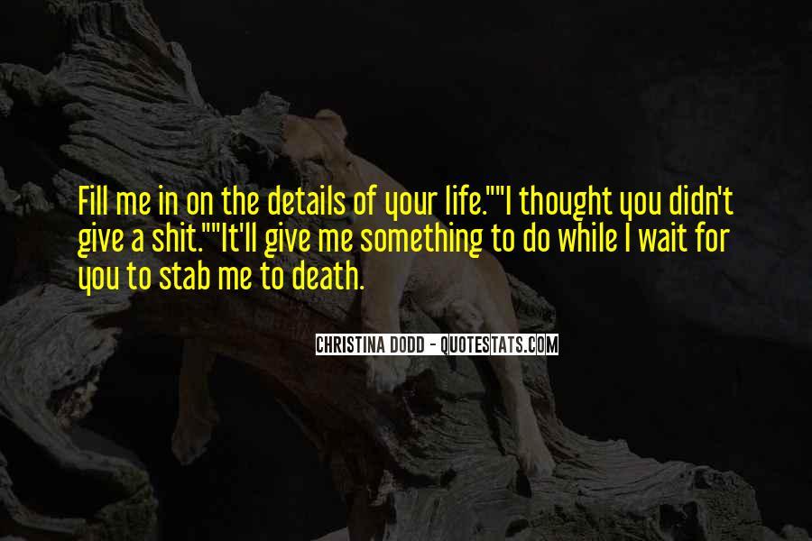 Christina Dodd Quotes #89630