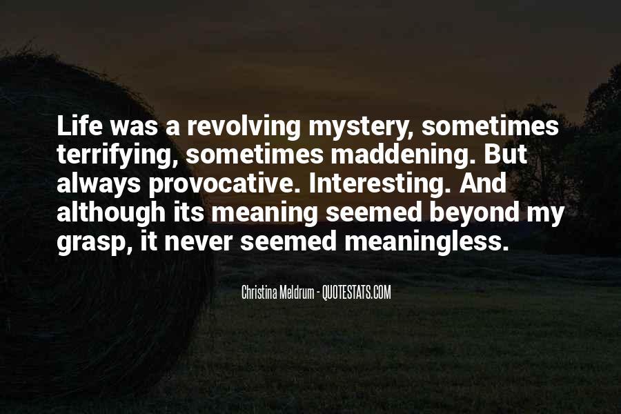 Christina Meldrum Quotes #1680643