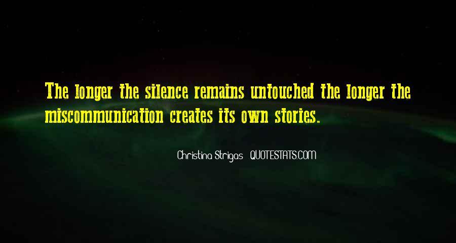 Christina Strigas Quotes #1541314
